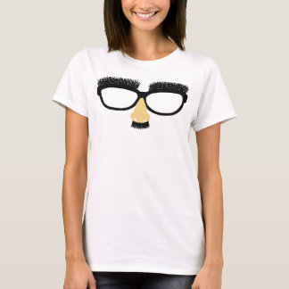 Funny glasses with mustache and nose T-Shirt