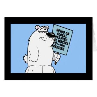 Funny global warming card