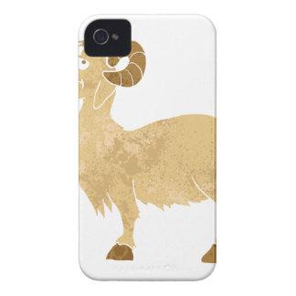 funny Goat cartoon. iPhone 4 Cases