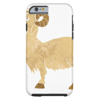 funny Goat cartoon. Tough iPhone 6 Case