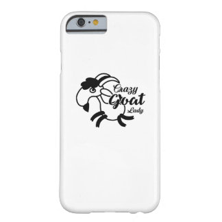 Funny Goat  - Crazy Goat Lady Barely There iPhone 6 Case