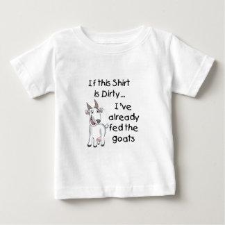 Funny Goat Dirty Shirt