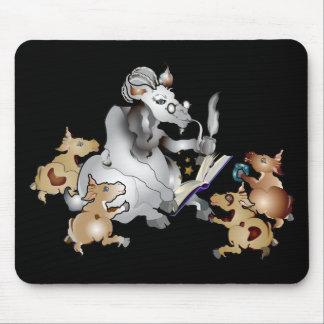 Funny Goat GrandPa GrandKids Mouse Pad
