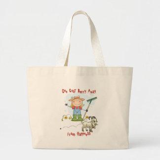 Funny Goat Poop Cartoon Bags