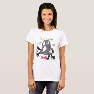 FUNNY GOAT YOGA  Namaste Home T-Shirt