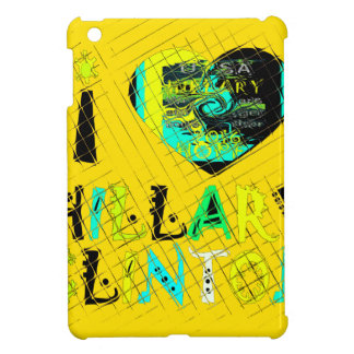 Funny Golden lovey Amazing Hope Hillary for USA Co iPad Mini Cases
