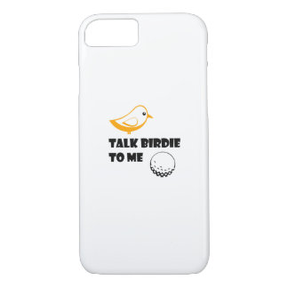 Funny Golf Gifts  Talk Birdie To Me Cool iPhone 8/7 Case