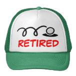 Funny golf hat for retired men