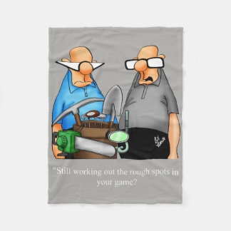 Funny Golf Humor Throw Blanket Gift