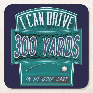 Funny Golf Joke Coaster