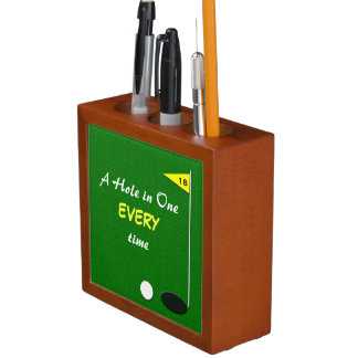 Funny Golf Pen and Pencil Holder