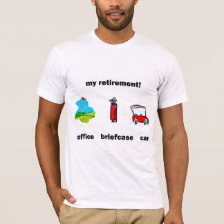 Funny golf retirement T-Shirt