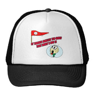 Funny Golf T-shirts Gifts Trucker Hat