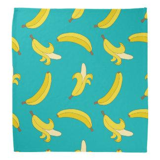 Funny Gone Bananas illustrated pattern Bandana