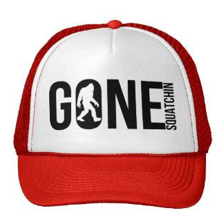 Funny Gone Squatchin Trucker Hat