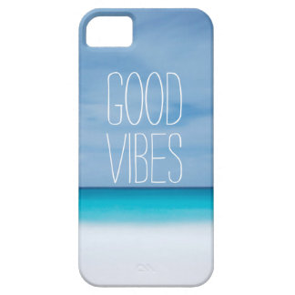 Funny good vibes tropical ocean photo hipster iPhone 5 cover