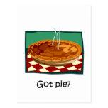 Funny got pie