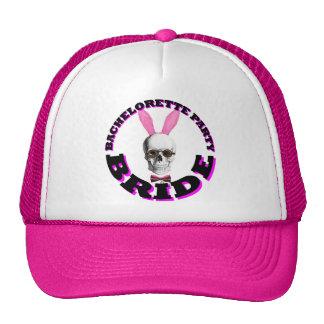 Funny Gothic steampunk bride Trucker Hat
