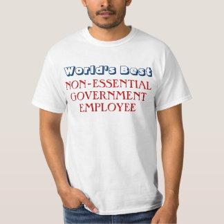 Funny Government Employee Shutdown T-Shirt