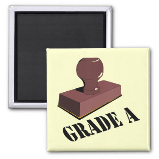 Funny Grade A T-shirts Gifts Refrigerator Magnet
