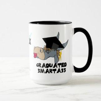 Funny Graduation Donkey  Wearing Graduate Cap Mug