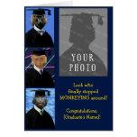 Funny Graduation Monkeys Custom Congratulations