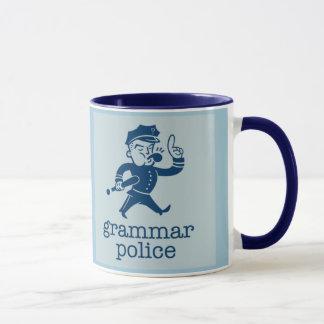 funny grammar police design mug