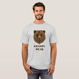 Funny Gramps Bear Funny T-Shirt