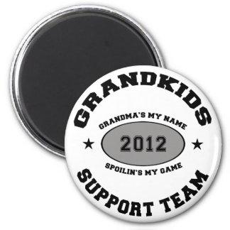 Funny Grandkids 2012 Grandma 2 Inch Round Magnet