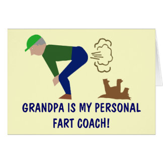 Funny grandpa card
