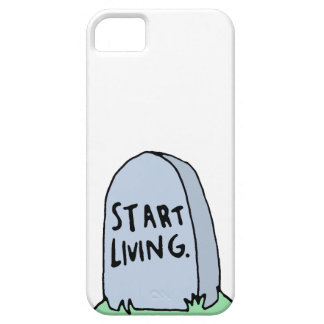 Funny Gravestone iPhone 5 Case