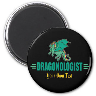 Funny Green Dragon Magnet