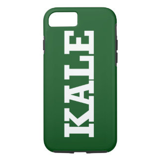 Funny Green Kale Phone Case
