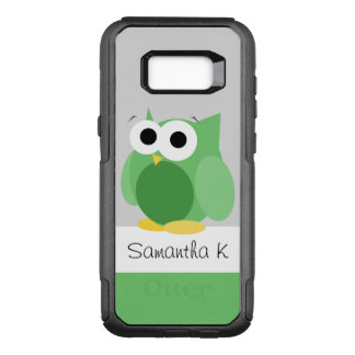 Funny Green Owl Samsung Galaxy S8 OtterBox Commuter Samsung Galaxy S8+ Case