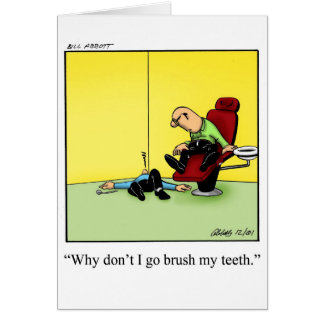 Funny Greeting Card Humor Blank