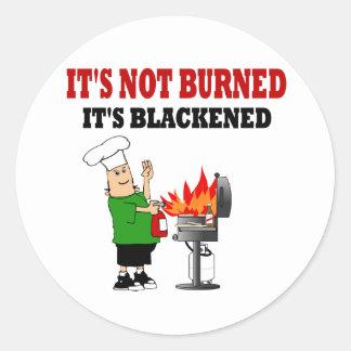 Funny  Grill Chef Round Sticker