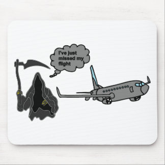 funny grim reaper mouse pad