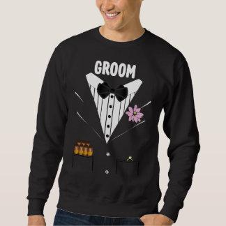 Funny Groom Tuxedo Sweatshirt