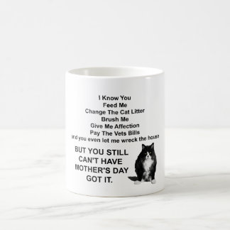 Funny Grumpy Cat Mother's Day Mug