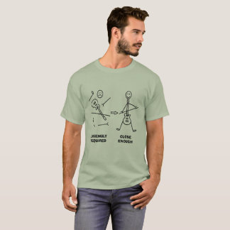 Funny Guitar Stickman Assembly T-Shirt