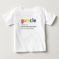 Funny Guncle Definition Print