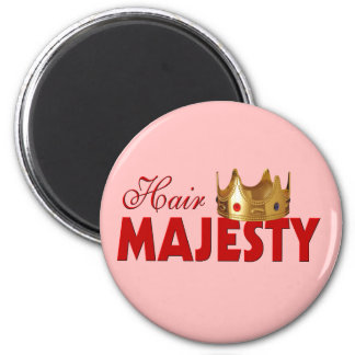 Funny Hairstylist Magnet