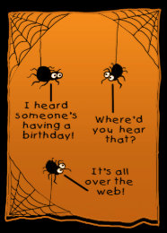 Funny halloween birthday cards photocards invitations more funny halloween birthday card bookmarktalkfo Images