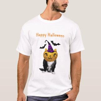 Funny Halloween Cat Men's T-Shirts