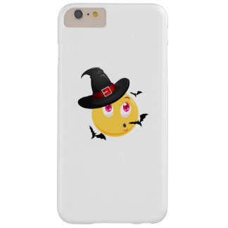 Funny Halloween Emoji Witch Gift  Boy Girl Kids Barely There iPhone 6 Plus Case