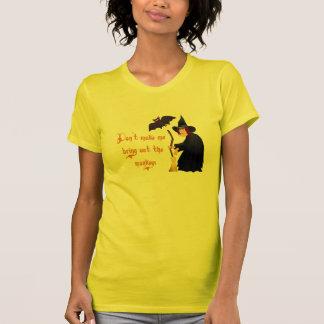 Funny Halloween Flying Monkeys Ladies T-shirt