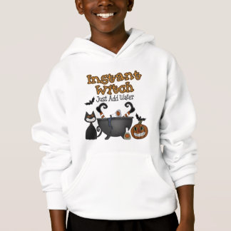 Funny Halloween Instant Witch Kids Hoodie