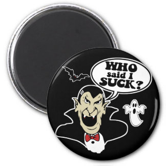 Funny Halloween Vampire Magnet