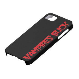 Funny Halloween Vampires Suck iPhone 5 Case