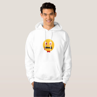 Funny Halloweens Emoji Ghost Gift  Boy Girl Kids Hoodie